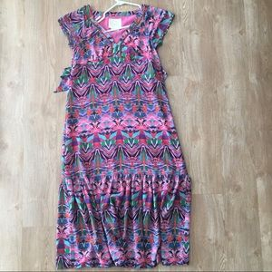Vanessa Virginia maxi dress from Anthropologie